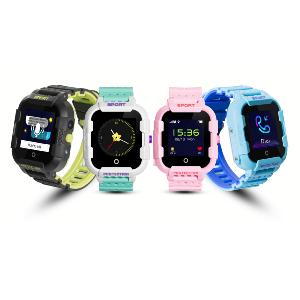 Montre Balise GPS Enfant Waterproof IP67 - SPORT - PHOTO - Bleue
